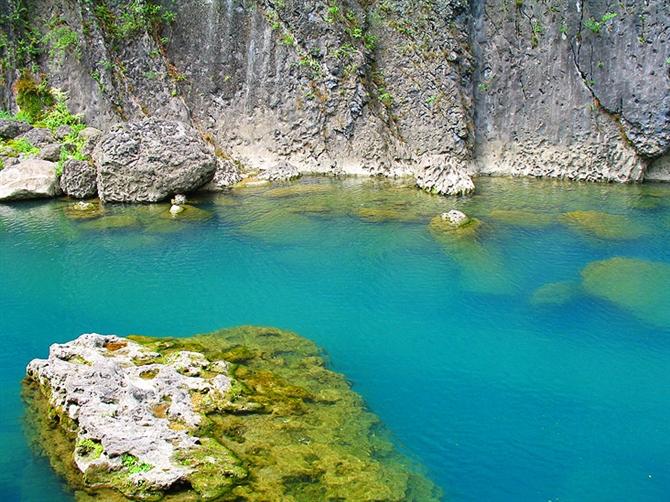 光雾山小巫峡景区图片  南江小巫峡美景分享